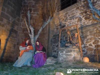 Senderismo Sierra Norte Madrid - Belén Viviente de Buitrago; lanzarote senderismo